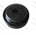 Kladka ventilátoru / Pulley fan twin groove 165mm / JCB 3CX 4CX