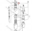 Manžeta hydraulického rozvaděče JCB 3CX/4CX